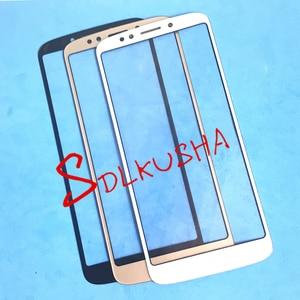Image 2 - 10 ピース/ロットフロント外側スクリーンガラスレンズ交換用タッチスクリーン LCD カバーモトローラモト G6 再生 xt1922