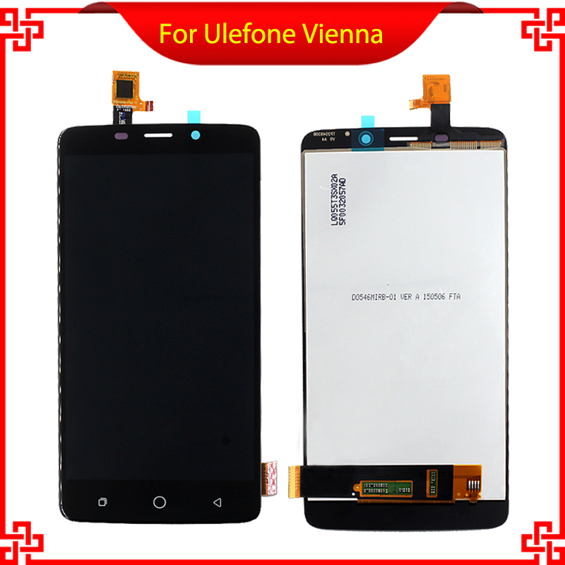 5 For Ulefone Vienna 5PCS/Lot LCD Display+Touch Screen 100% Original Screen Digitizer Assembly Replacement