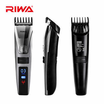 Reva Electric HairTrimmer LCD Display Professional Hair Clipper IPX5  Washable Rechargeable Hair Cutter cortador  de pelo27 - DISCOUNT ITEM  29% OFF All Category