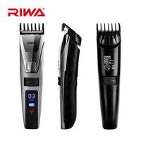 Reva Elektrische HairTrimmer Lcd-scherm Professionele Tondeuse IPX5 Wasbare Oplaadbare Haar Cutter cortador de pelo3536