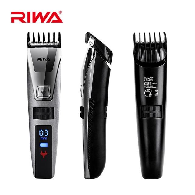 Reva 電気 HairTrimmer Lcd ディスプレイプロフェッショナルバリカン IPX5 洗える充電式カッター cortador デ pelo27