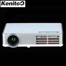 Build-in Android 4.4 PICO DLP Projector Full HD 1280*800 Native Resolution Home Theater Projector More Than 200Inche Size Screen