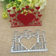 Heart Metal Cutting Dies for Scrapbooking