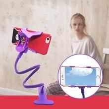 Multi-Function Lazy Plastic Mobile Phone Holder Creative Type Adjustable Telescopic
