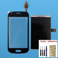 For Samsung Galaxy Trend S7562 GT-S7562 S7560 LCD Display Screen + Touch Screen Digitizer Sensor + Adhesive + Kits все цены