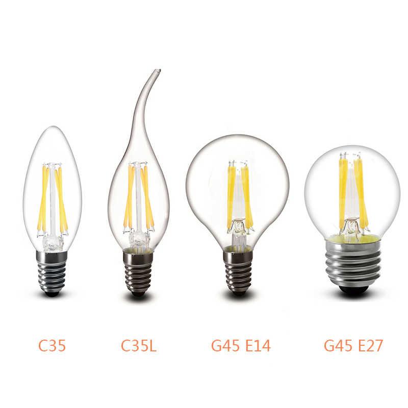 Светодиодный лампы E27 светодиодный светильник E14 светодиодный 220V E27 лампы B22 230V лампа накаливания Эдисона лампа E14 Винтаж люстра со свечами можно использовать энергосберегающую лампу или светодиодную лампочку)