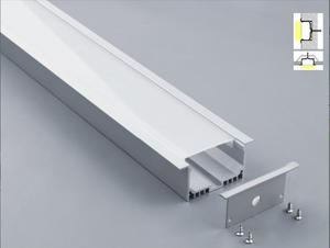 Image 2 - 無料市平ledアルミプロファイルledストリップ6063 ledアルミ天井チャネルプロファイル