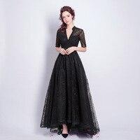Kseniya queen/кружевные Простые Вечерние платья для беременных с v образным вырезом