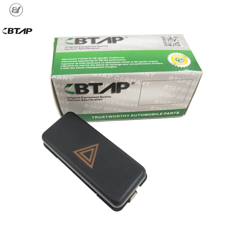 BTAP New Emergency Light Hazard Switch For BMW 3 5 7 8 Series M3 M5 Z3 E36 E34 E31 61311374220 61311390722 German Specification