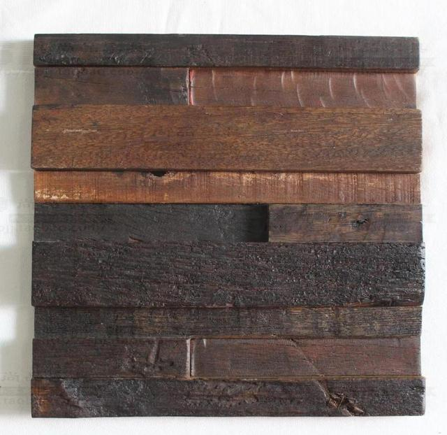 Streifen 3D naturholz mosaik fliesen küche backsplash fliesen alte ...