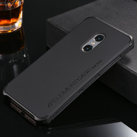 Luxury Fashion Metal Protecive Cover Case For Xiaomi Redmi Note 4 Aluminum Frame Matte PC Back