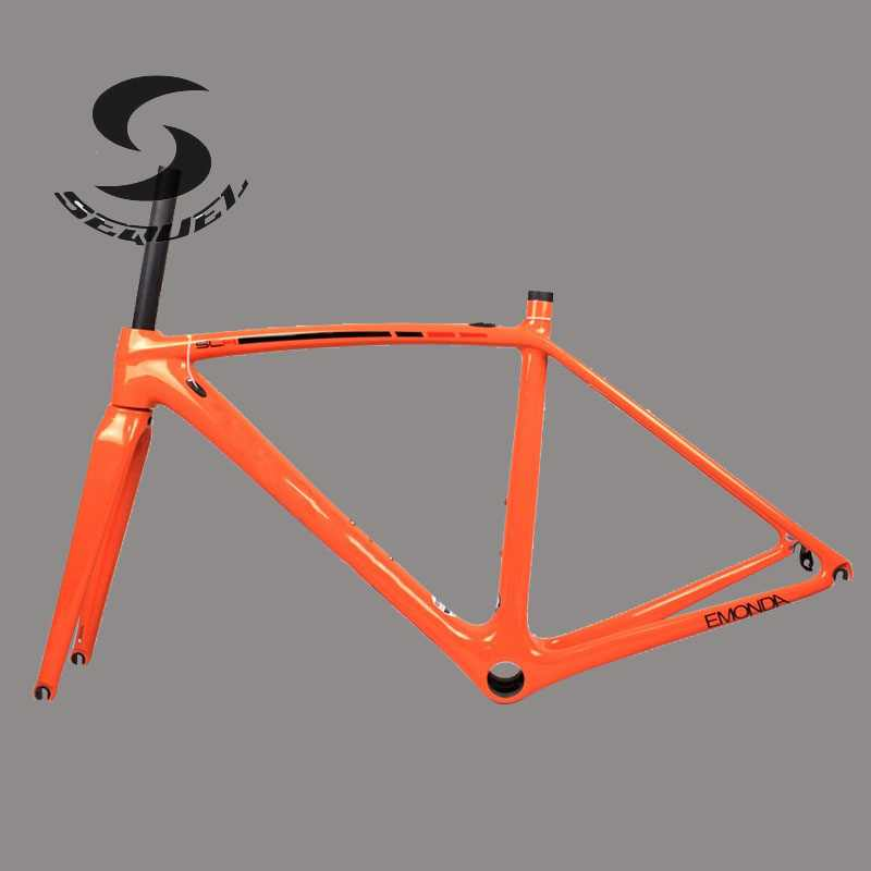765g only!carbon bike frame T1000 Toray Road Bicycle Frame PF30 SL frame road carbon bike parts with headset and clamp tp760 765 hz d7 0 1221a
