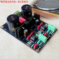 WeiLiang Audio Germany DUAL circuit AirVinyl MM/MC Phono Stage HIFI amp finished amplifier board 1pcs
