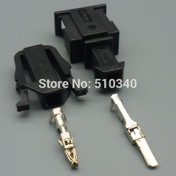 100 Set 1 Pin High Quality Male Female Kit Sensor Electrical Power Cable Connector For Vw Fortoyota Driving A Roaring Trade