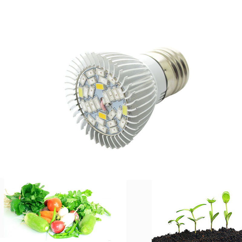 Newest 28 40Leds Grow Light E27/GU10/E14 220V Phyto Lamp Full Spectrum LED Grow Light E27 Led Growing Lamps For Plant
