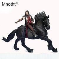 Mnotht 1/6 масштаб шарма Модель король лошади Коллекция игрушки Смола война лошадь с жгут скульптура для 12in фигурку