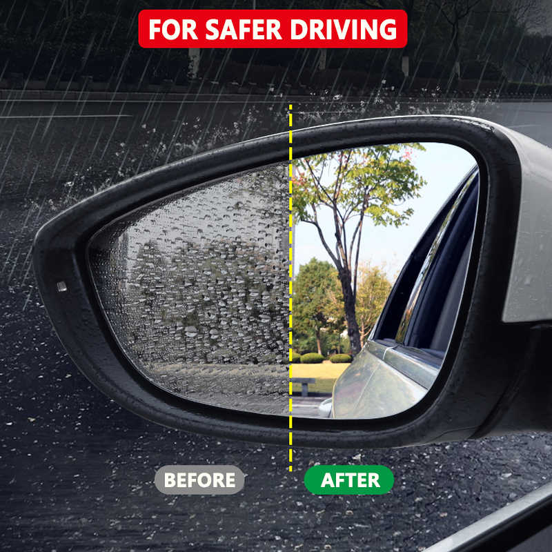 Pour Toyota Innova Kijang AN40 AN140 2005-2019 couverture complète Anti-buée Film rétroviseur étanche à la pluie Anti-buée Films accessoires