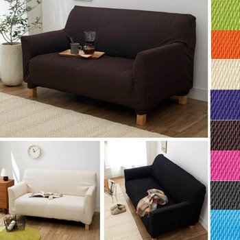 cover sofa stripes printing modern solid color striola antiskid dustproof all covered elastic customized stretch sofa cover