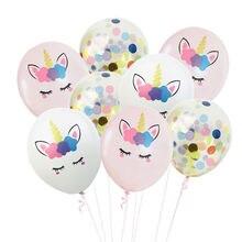 10 pulgadas 10 piezas de oro rosa lentejuelas globos confeti conjunto bebé chico cumpleaños fiesta decoraciones