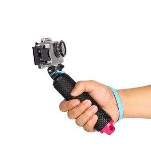 Image 5 - Galleggiante Hand Grip Galleggiabilità Rod Pole Stick Monopiede Treppiede per Gopro Go Pro Hero 8 7 6 5 4 3 xiaomi Xiomi Yi 2 4 K 4 K Macchina Fotografica di Azione