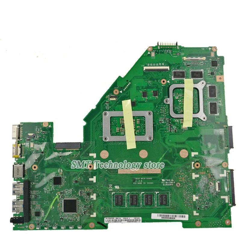 X550JX Motherboard GTX950M I7-4720HQ For ASUS FX50J A550J K550J W50J laptop Motherboard X550JX Mainboard X550JX Motherboard