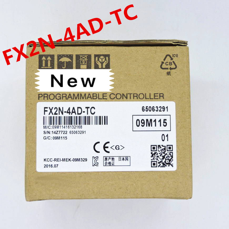 1 year warranty New original FX2N 2AD FX2D 2DA FX2D 4AD FX2N 4DA FX2N 4AD TC