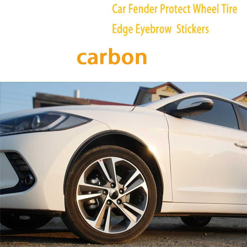 CNPARTS 150cm araba jant lastik kaş Hyundai Tucson 2017 için Solaris ix35 i30 Suzuki Swift mitsubishi ASX Mazda çamurluk etiket