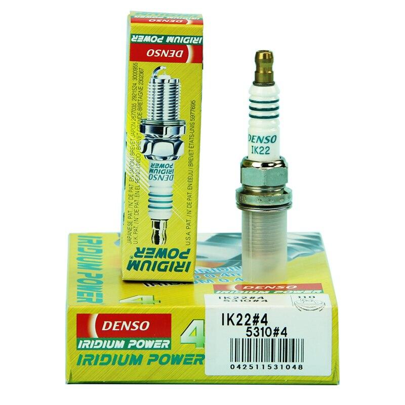 5310 IK22 DENSO IRIDIUM POWER DENSO Bougies Set de 4-Wholesale