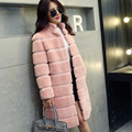 Free shipping women sheared sheep wool fur one piece coat pink coat female genuine sheepskin leather fur coat Phoenix winter