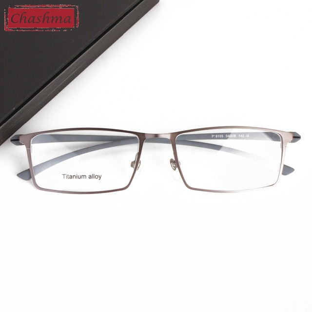 d54815c656 Chashma Brand Top Quality Men Eye Glass Titanium Glasses Spectacles Frame  for Men Myopia Light Glasses Frames for Men