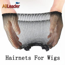 New Fashion Hairnets 1-5Pcs/Lot Black Mesh Weaving Wig Hair Net, Cool Mesh Weaving Cap With Elastic Invisible Nylon Hair Nets(China)