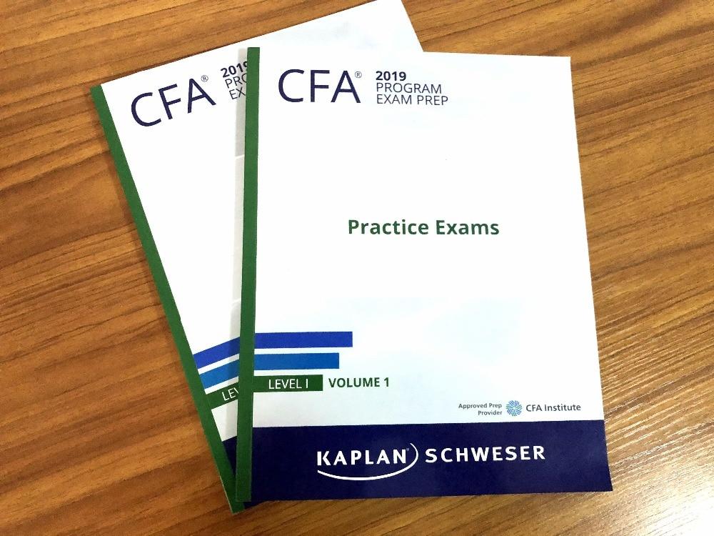 2019 CFA Level 1 Schweser Practice Exams Volume 1/Volume 2