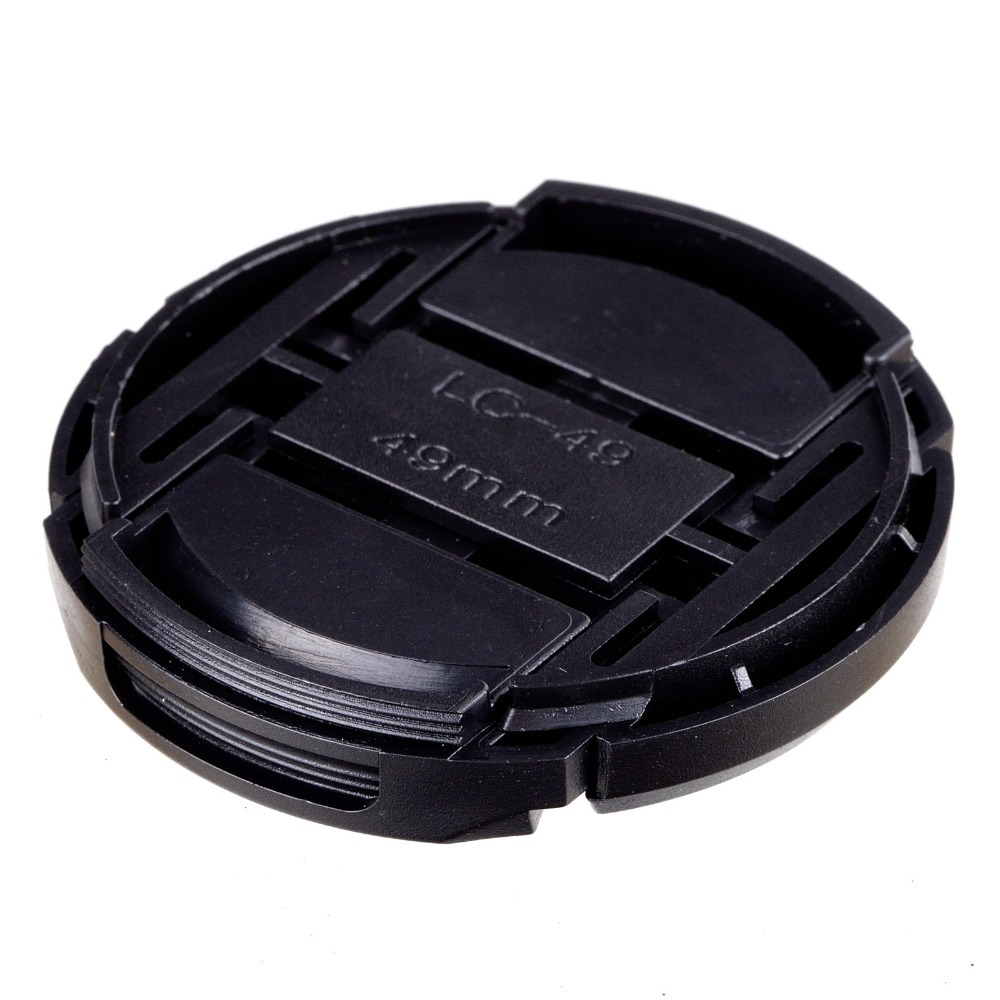 NEW ARRIVAL 49mm Snap-on Front Lens Cap Cover for Camera Sigma Lens free shipping