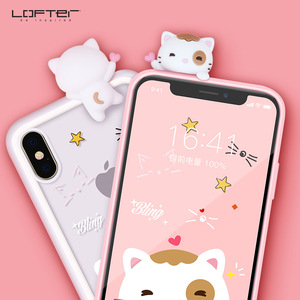 2in1 Shockproof Clear Case for