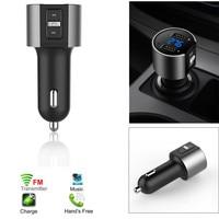 Auto New Bluetooth FM Transmitter MP3 Player USB Flash Drive Car SD AUX Handsfree DE Wireless