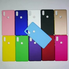 PC Hard Case for Xiaomi Mi 8 mi8 Colorful Matte Slim Plastic Shell Rubber Mobile Phone Back Cover