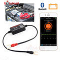 Real Time Car Battery Tester BM2 Bluetooth 4.0 Battery Monitor Cranking Charging Test Battery Analyzer For Android IOS Phone