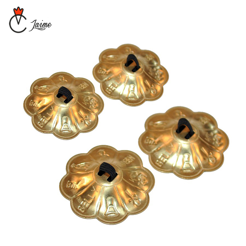 Belly Dance Accessories Professional Women Accessories Copper Primary Level Finger Cymbals Zills For Belly Dance