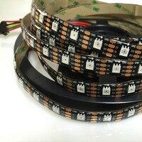 YIYANG 5M APA102 Pixel Programmable LED Strips 60LED M DC 5V IP65 Waterproof WS2801 Updated Version