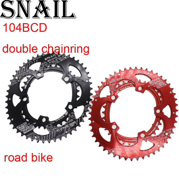 Snail Double Chainring 2 layer speed 110 BCD Oval 50t 35T for Shimano for Sram Cycling