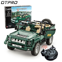 561pcs WW2 Army Soldier Weapons Parade Jeep Truck Military Vehicles Legoed Technic City Building Blocks Bricks RC Car Model Toy
