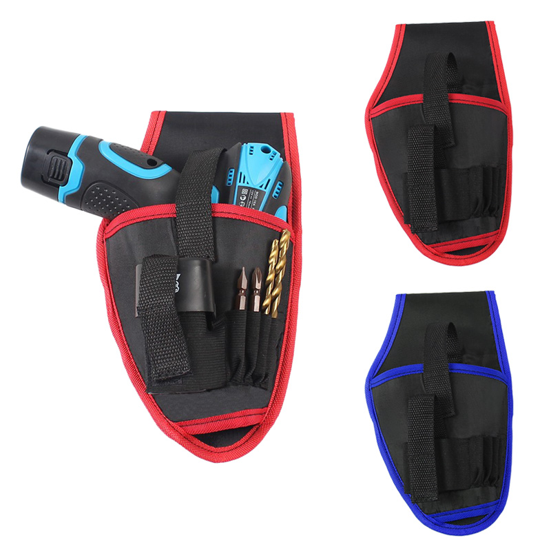 Portable Tools Waist Bag Cordless Drills Holder Storage Pouch For 12V Electric Drill Tool SKD88