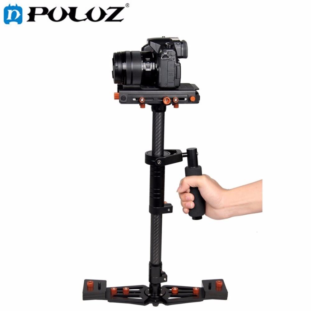 bilder für Puluz s800 kohlefaser handheld stabilisator für steadicam für canon DSLR Kamera DV Digital Video & für GoPro Max last 5 KG