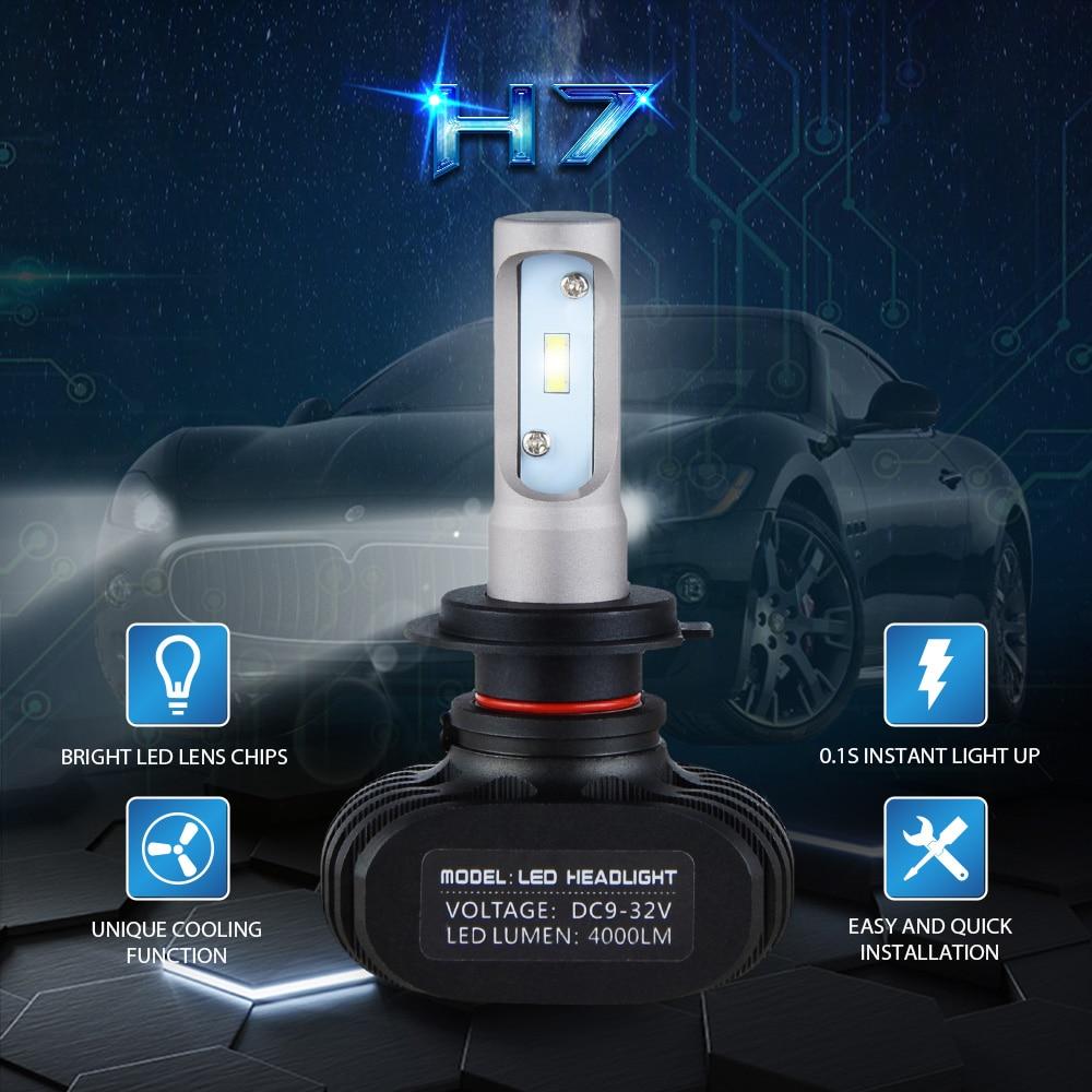 Bevinsee CSP LED Headlight Bulbs Head Lamp Fog Light Bulbs For YAMAHA YZF R1 2007 2014 YZF R6 2003 2015 YZF R3 2015 Single Beam