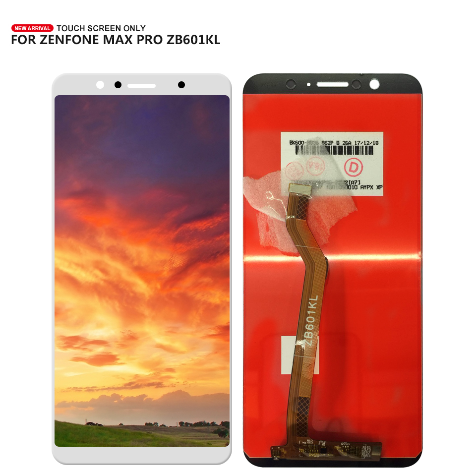 100% Tested For ASUS ZenFone Max Pro M1 ZB601KL <font><b>ZB602KL</b></font> <font><b>LCD</b></font> screen display touch panel digitizer Assembly Free Tools image