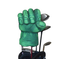 Golf Animal Headcover for Fairway Wood or Hybrid Golf Club head, The Green Hand Boxing Club Cover