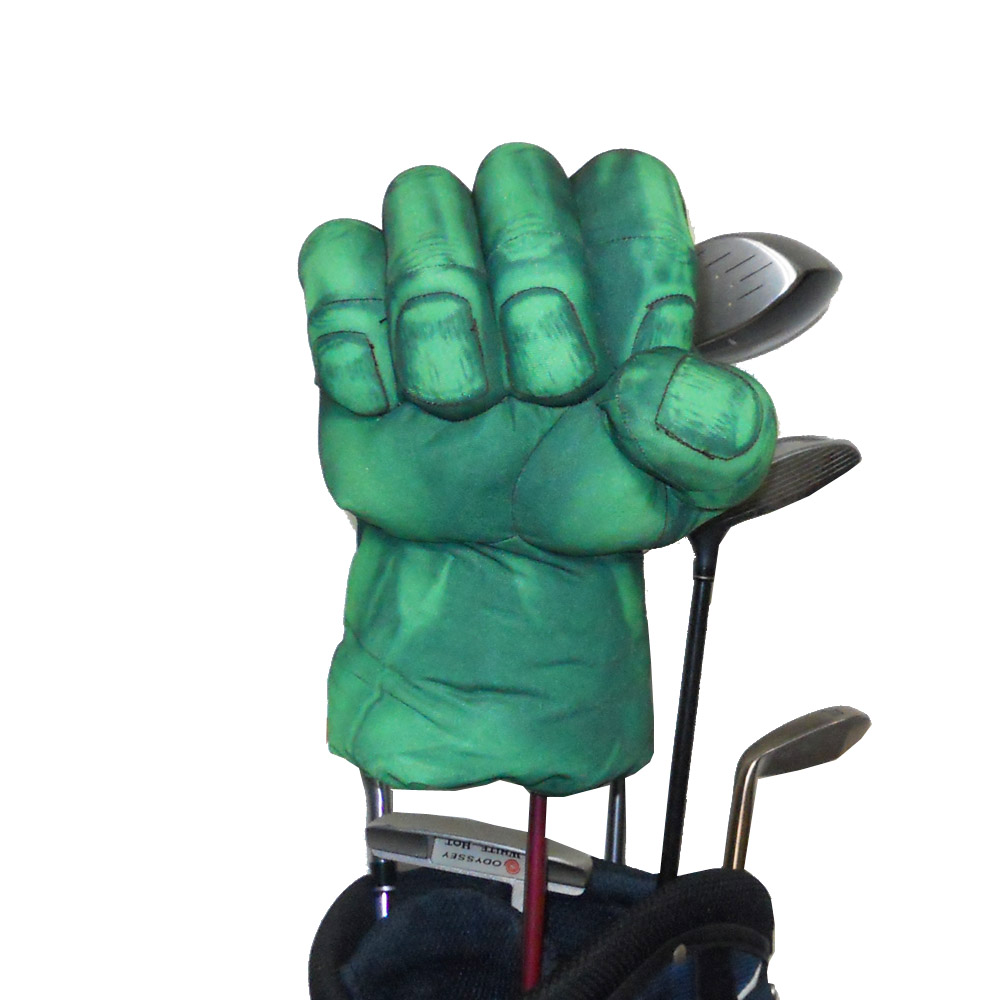 Golf Animal Headcover for Fairway Wood eller Hybrid Golf Club head, The Green Hand Boxing Club Cover