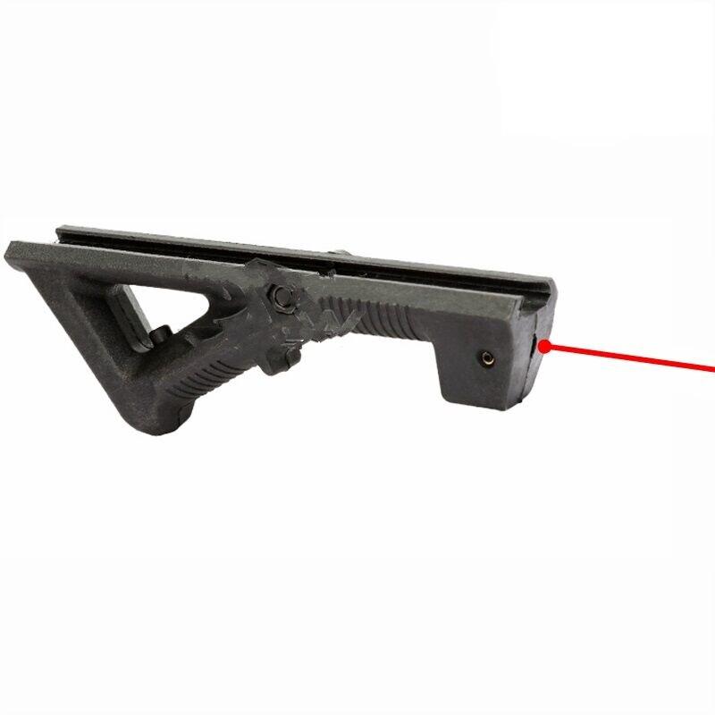 Taktische M4 AFG Laser Militär Kampf Jagd Getriebe Montage Mit Laser Einstellbare Airsoft Spielzeug Pistole Zubehör Anblick Dot Nerf Gun