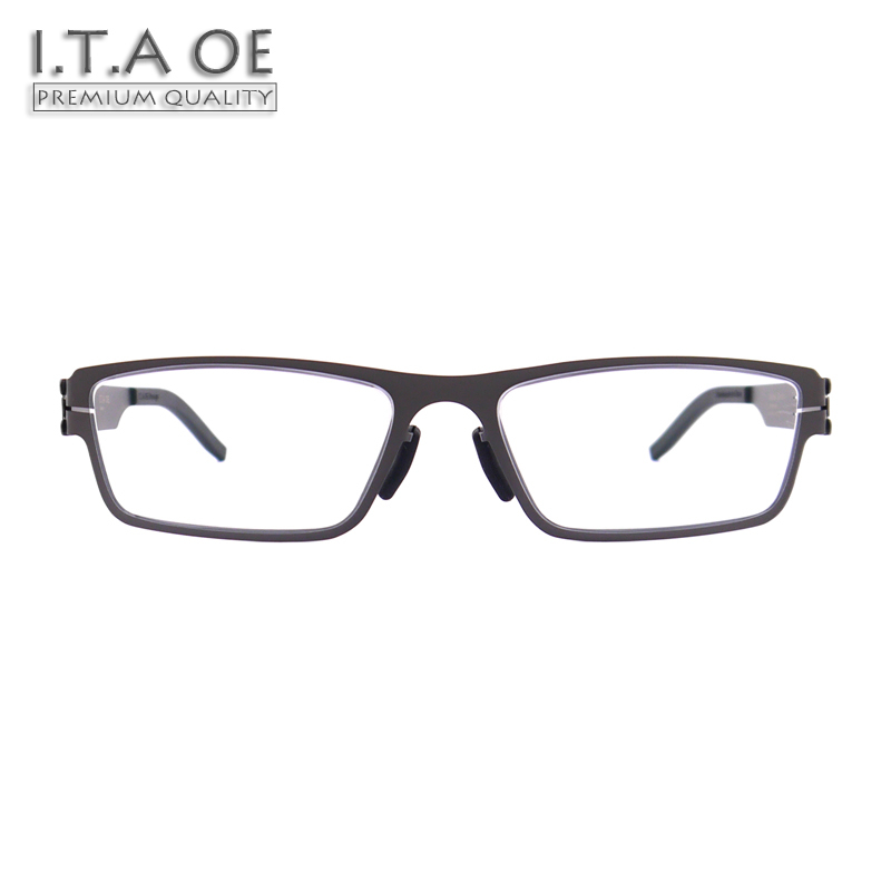 9a3cf2eadf2 ITAOE Model Smith No Screws Screwless Stainless Steel Men Optical  Prescription Glasses Eyewear Frames Spectacles 138mm-in Prescription  Glasses from Apparel ...