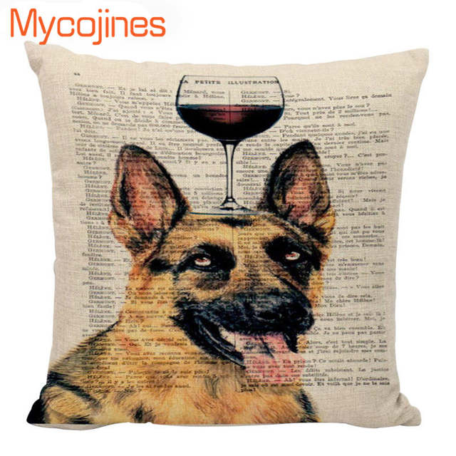 Awe Inspiring High Quality Cushion Cover Shabby Chic Dog Pillow Covers Gaming Chair 45X45Cm Cotton Linen Home Couch Seat Decorative Pillowcase Ncnpc Chair Design For Home Ncnpcorg